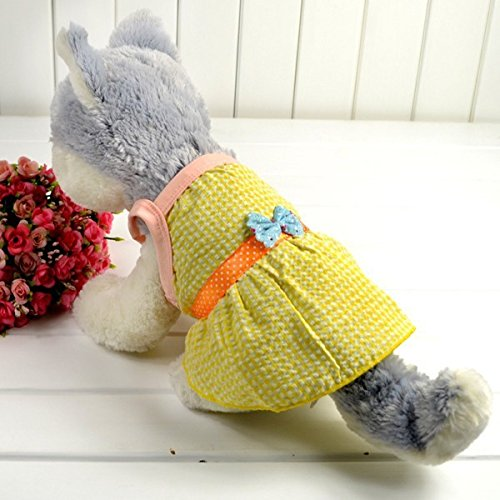 Bestruby-Pet-Puppy-Dog-Clothes-Princess-Sleeveless-Lattice-Bow-Dress-Skirt-Apparel