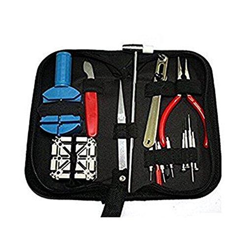 eBoTrade 16pcs Watch Repair Tool Kit, Danibos Opener Link Remover Spring Bar Tool Carrying - Near Me Repair Eyeglasses