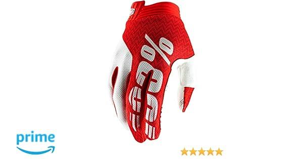 Unisex adulto Desconocido 100/% Itrack 100/% Glove Guantes Black//Charcoal SM
