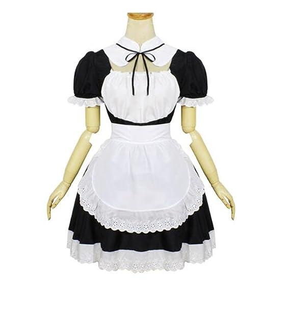 Amazon.com: Cos tienda Niñas gothci francés Lolita traje de ...