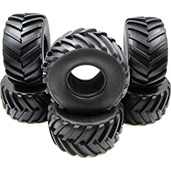 2pc RC 2.2 Paddle Tire Sand Snow Off Road Tyre Fit RPM Revolver 2.2 Truck Wheels