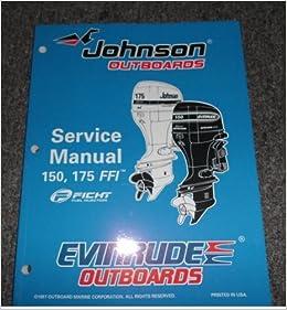 1998 Johnson Evinrude 150 175 FFI Service Manual Ficht