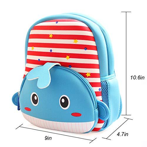 Little Kids Animals Backpack Preschool Bags Waterproof for Toddler Boys  Girls Daypack 05e74272f92ee