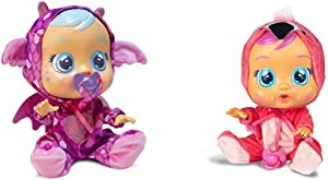 """Cry Babies Bruny The Dragon, 12"""" Tall Doll - Amazon Exclusive & Fancy Doll"""