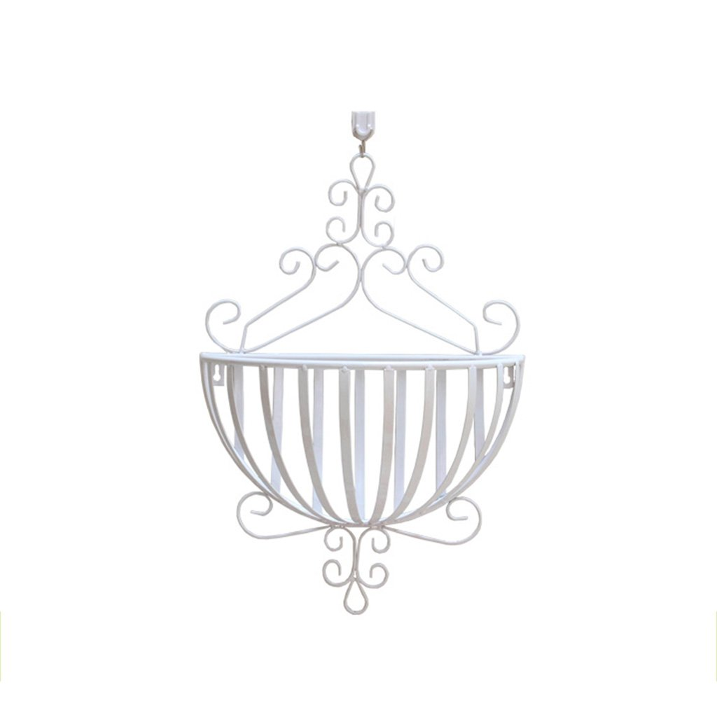 CSQ Iron Wall Hanging Flower Basket/Flower Stand, Indoor Decorations, Bedroom/Living Room/Balcony / Dining Room, 3453CM Flower Shelf
