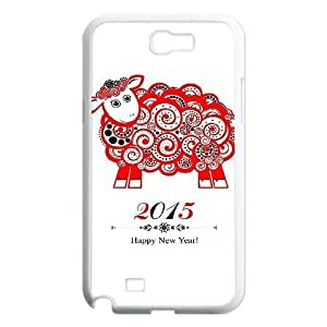 Happy New Year 2015 Design Discount Personalized Hard Case Cover for Samsung Galaxy Note 2 N7100, Happy New Year 2015 Galaxy Note 2 N7100 Cover