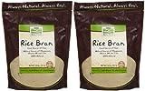 (US) NOW Foods Rice Bran - 20 oz - 2 pk