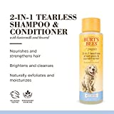 Burt's Bees Dog Shampoo for Puppies, 2 in 1 Shampoo