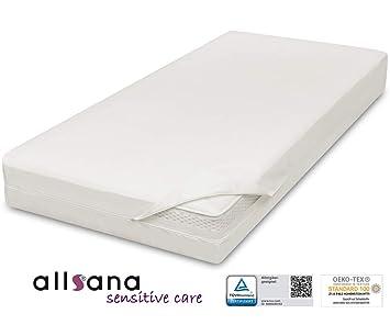 Allsana Allergiker Matratzenbezug 180x200x24cm Allergie Bettwäsche