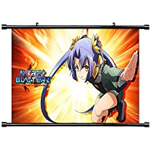 Nitroplus Blasterz Heroines Infinite Duel Video game Wall Scroll Poster (32x18) Inches