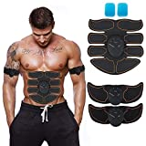 Ewings Abdominal Trainer,ABS Trainer Body Fit Toning Belt,Portable Unisex Fitness Training Gear, Ab Belt for Abdomen/Arm/Leg Training Men & Women Home Office Workout