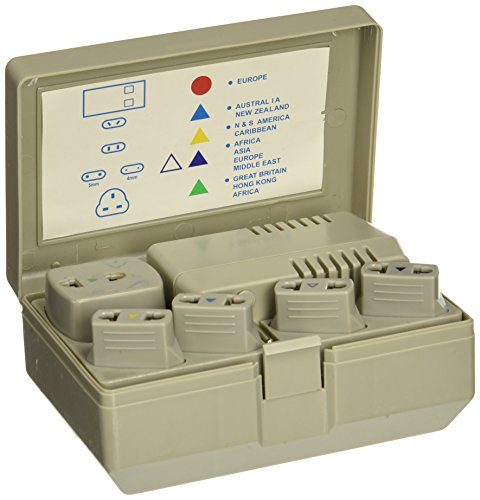 SEVENSTAR US EU 50-1600W AC World Travel Voltage Converter Adapter (SEVENSTAR SS 1650)