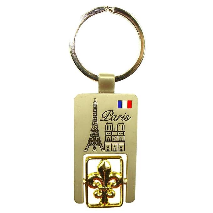 Souvenirs de Paris paris-keychain-lily-flower-y - Llavero de ...