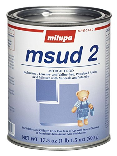 Nutricia N 93512601 Medical Food Powder Milupa Msud 2 Unflavored 500 Gm 659351 Box Of 1
