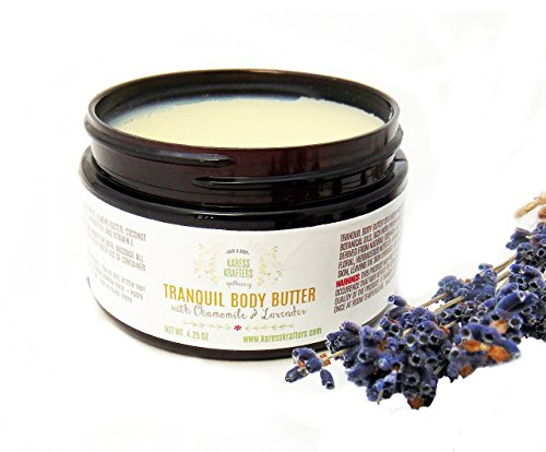 - Tranquil Body Butter - Essential Oils, Dry Skin, Sensitive Skin, Hands, Baby Bottom, Elbows, Knees, Heels, Feet, Cracks, Lips by Karess Krafters Apothecary