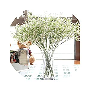 1PCS 58cm Rustic Artificial Flower Interspersion mantianxing Decor for Home Table Wedding Flower Plastic Gypsophila babysbreath 90