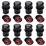 BREADEEP Cigarette Lighter Socket Cover Cap 8 Pack, Universal Waterproof Dustproof Plug for Car Power Port Outlet - Prevent Kids from Electric Shock