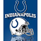 Northwest Indianapolis Colts Gridiron Fleece Throw
