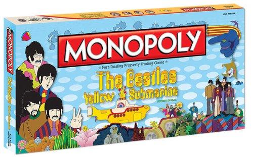 Monopoly Beatles Yellow Submarine Board Game