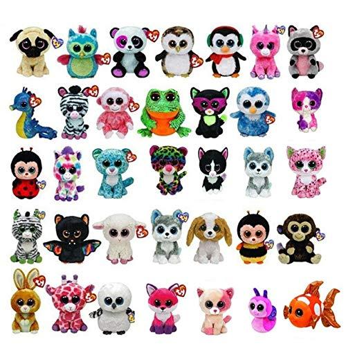 XuBa 50PCS/Lot 15CM Wholesale Ty Beanie Boos Plush Doll Stuffed Animal Toys S881 from XuBa