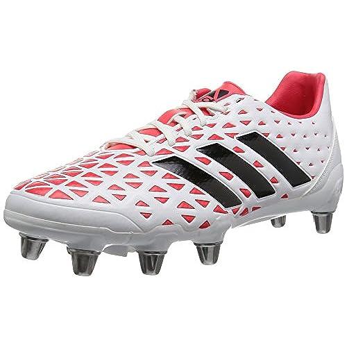 3b920324193f2 durable modeling adidas Kakari Elite Sg, Chaussures de Rugby Homme, Noir, UK
