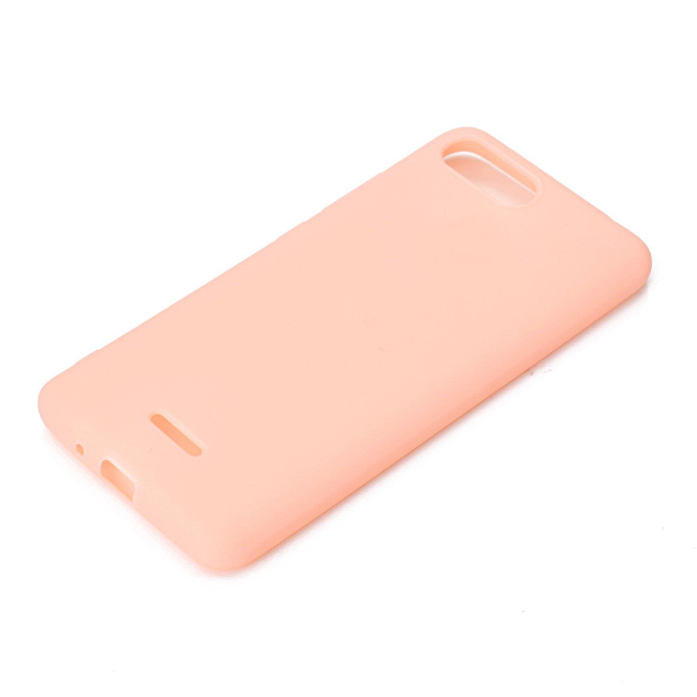 Gr/ün Everainy Kompatibel f/ür Xiaomi Redmi 6A Silikon H/ülle Ultrad/ünn H/üllen Handyh/ülle Einfarbig Gummi f/ür Xiaomi Redmi 6A Schutzh/ülle Sto/ßfest TPU Gel Sto/ßstange Cover