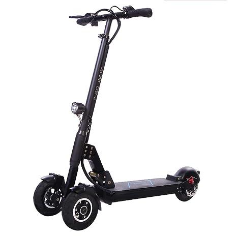 Y&XF Scooter eléctrico con Barra en T de 3 Ruedas, Peso ...