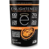 Enlightened Plant Protein Gluten Free Roasted Broad (Fava) Bean Snacks, Mesquite BBQ, 3.5 Ounce