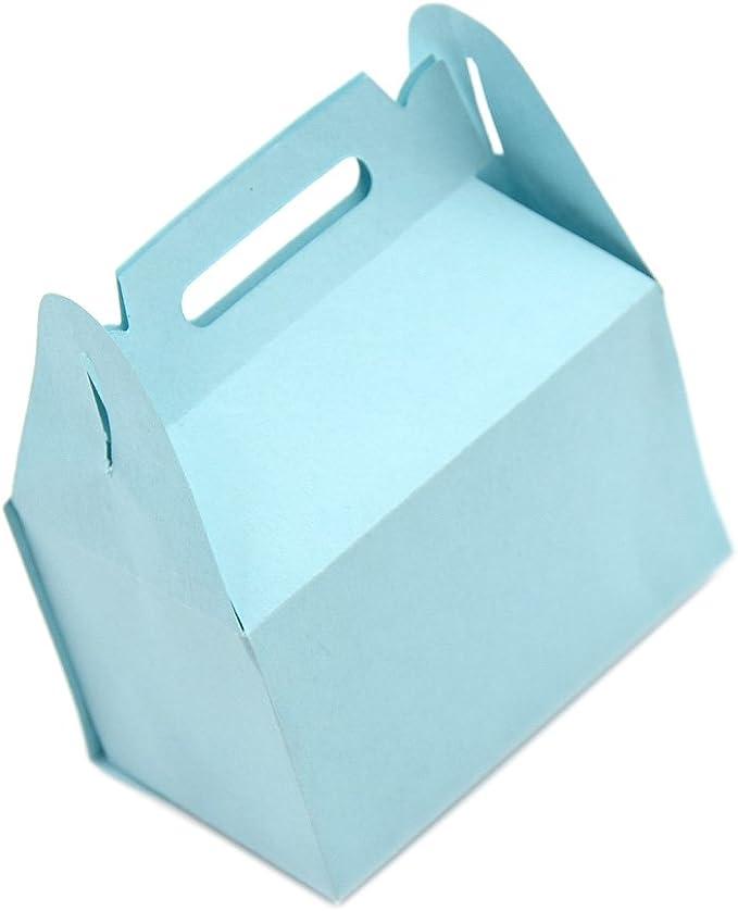 Lychee caja montable para regalo o caramelos, con troqueles, papel decorativo: Amazon.es: Juguetes y juegos