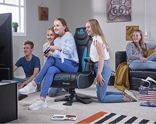 X Rocker Genesis Poltrona Gaming Con Piedistallo