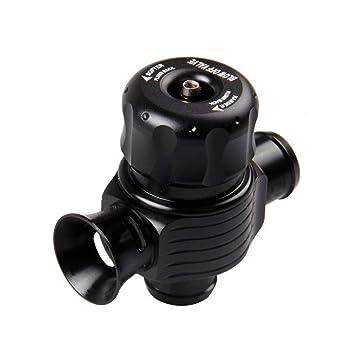 Vosarea Válvula de Escape Universal para Coche Válvula de Descarga Válvula de Descarga Válvula de Escape Ajustable Turbo Aleación de Aluminio Bilateral BOV: ...