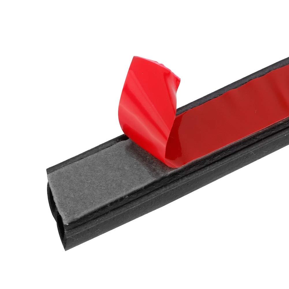 26m Seal Strip Universal Car Door Edge Seal Strip Aislamiento ac/ústico Forma de goma Sellos Burlete