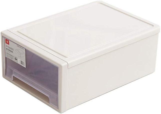 SCRT Cajón Almacenamiento gabinete Caja de Almacenamiento de Armario de plástico Transparente Caja de Almacenamiento Ropa Caja,XL: Amazon.es: Hogar