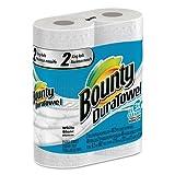 Bounty DuraTowel Paper Towels, 2-Ply, 11 x 11, 48/Roll, 24 Roll/Carton