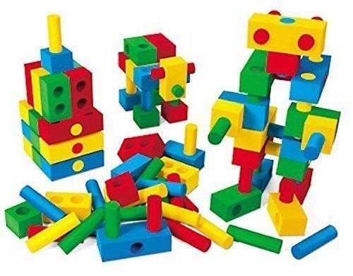 Verdes Foam Peg Blocks (60 Pieces)