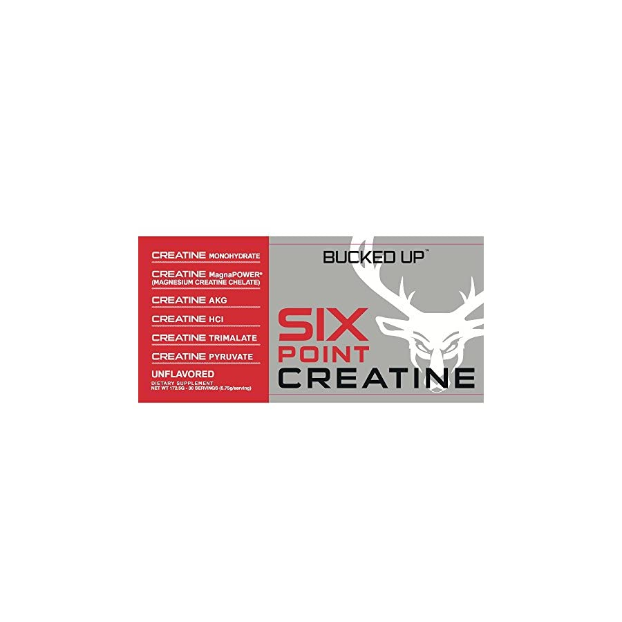 Bucked Up Six Point Creatine™ Six Types of Creatine For Men and Women