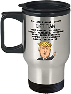 REGISTERED DIETITIAN GIFTS - TUMBLER - FUNNY DECORATIONS - OFFICE DECOR