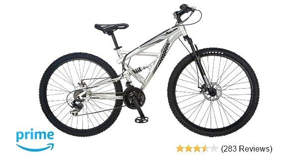 Amazon.com : Mongoose R2780 Impasse Dual Full Suspension Bicycle (29 ...