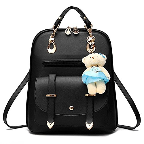 vintage stylish girls school bag college bag casual backpack a17