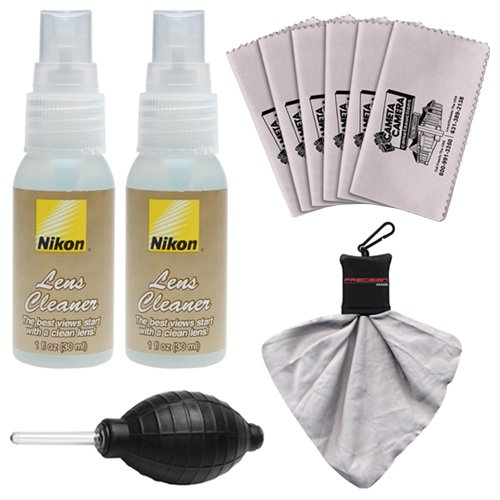 Nikon Cleaner Bottles Microfiber Cleaning