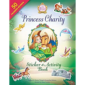 Princess Charity Sticker and Activity Book (The Princess Parables)