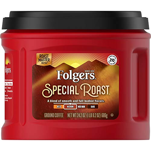 Folgers Special Roast Coffee, 24.2 Ounce, Packaging May Vary