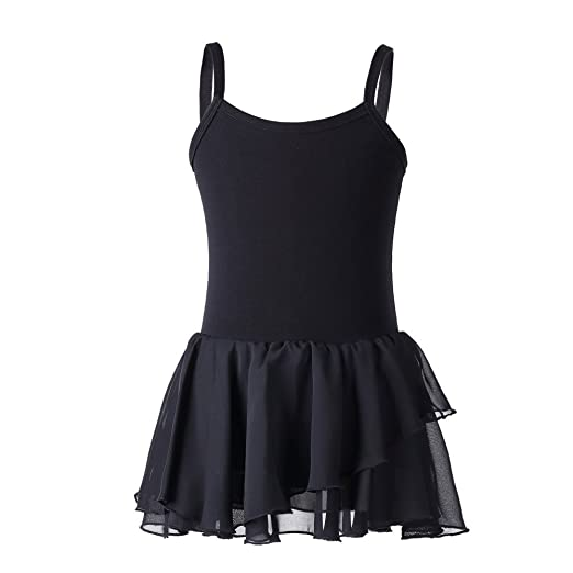 81df1bc754a7 Amazon.com  Valchirly Girls  Camisole Skirted Leotard Ballet Dance ...
