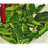 Dried Kaffir Lime Leaves 1 oz. Organic Naturally Grown. ใบมะกรูดแห้ง