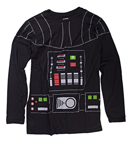 [I Am Darth Vader Star Wars Mighty Fine Costume Adult Long Sleeve T-Shirt Tee] (Yoda Costumes For Adults)
