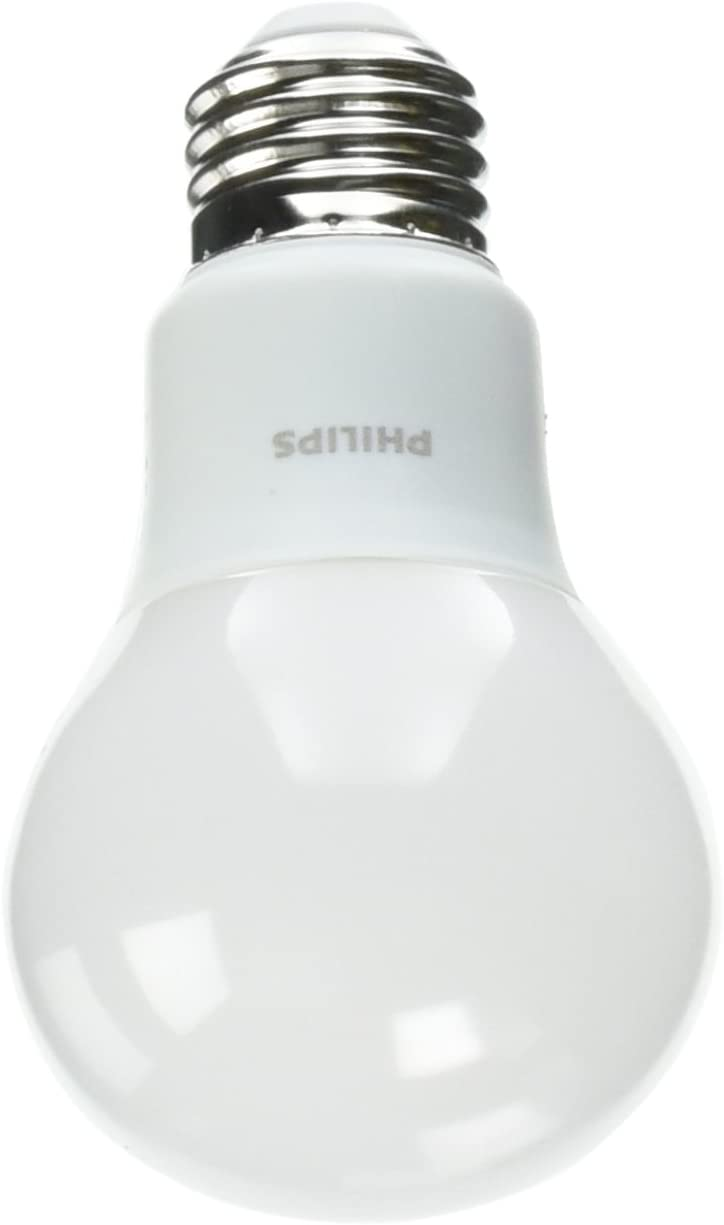 Philips 5.5 Watt A19 40W Replacement 450 Lumen Soft White LED Light Bulb, 2 Pack