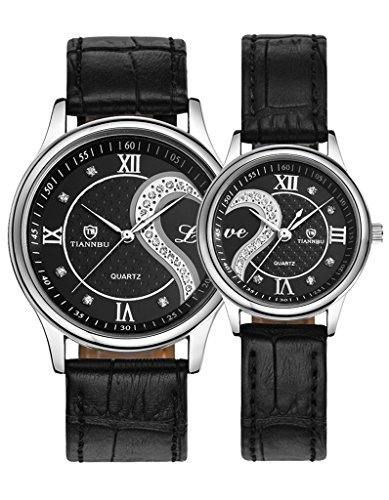 OOFIT Leather Romantic Silver Watches