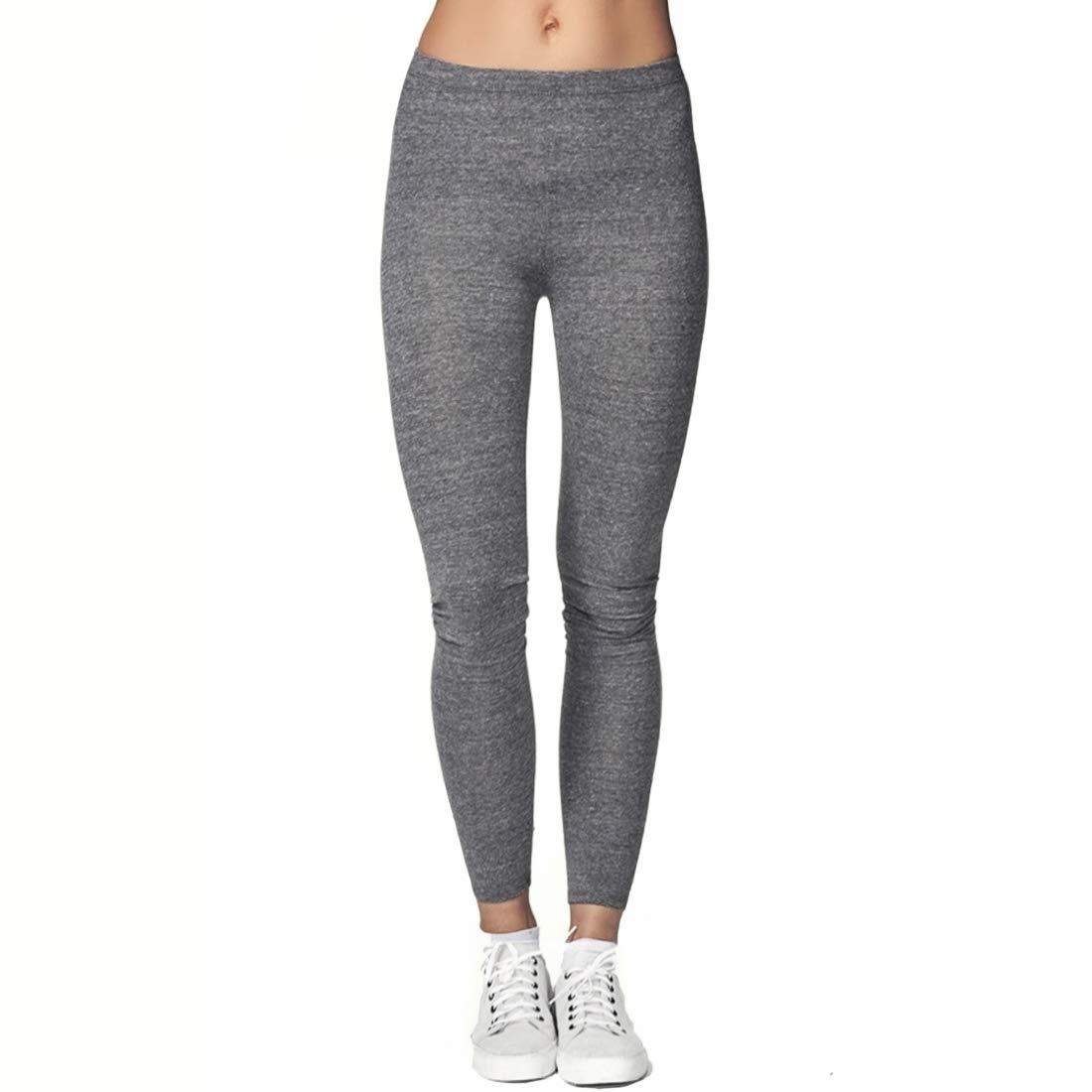 d777f7063720e5 Women's Organic Cotton & Eco Friendly Leggings (Small, Heather Grey) at  Amazon Women's Clothing store: