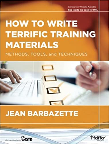 How to write terrific training materials methods tools and how to write terrific training materials methods tools and techniques 1st edition fandeluxe Images