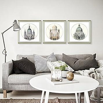 XKSQDP   Bilderrahmen Dekorative Bilderrahmen Sofa Wand Im Wohnzimmer  Kombination Aus Modernen, Minimalistischen Schlafzimmer Gemälde